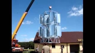 VAWT Vertical Axis Wind Turbine Generator