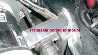 91 Honda Prelude EV Conversion Motor Mount Fab