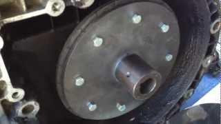 EV Conversion Guide Part 9 -------- Electric Motor & Adapter Plate--  Cut & Adjust