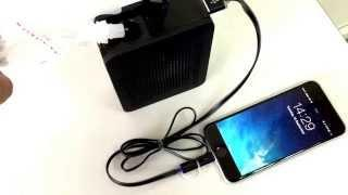 Salt Water fuel cell power up the iphone 6
