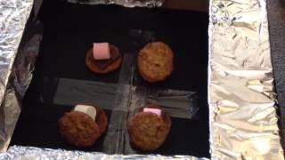 Homeschool Solar Oven - Cooking S'Mores Part 2