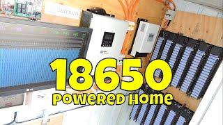 18650 DIY Powerwall Built from used laptop batteries ⚡