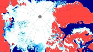 The Start of the 2016 Arctic Sea Ice Melting Season