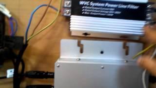 1050W solar  micro inverter wiring 接線