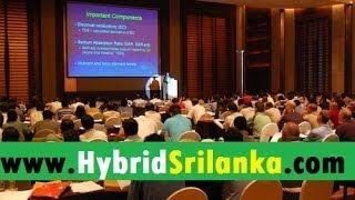 Free Seminar about Hybrid Vehicles in Sri Lanka - (සිංහලෙන්) Sinhala