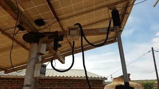 DIY dual axis solar tracking unit UPDATE