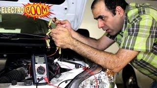 Jump Start a Car with AA Batteries