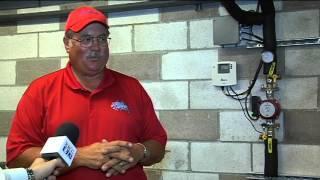 Eldon pool gets new solar boiler