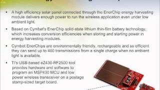 MSP430 Solar Energy Harvesting Development Tool