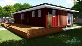 SCH11 3 x 40ft 2 Bedroom Container Home video