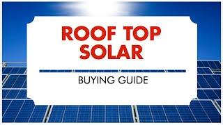 Rooftop Solar Buying Guide in India