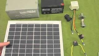 DIY portable solar power  Part 1
