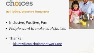 A Cool Approach to Climate Change Mitigation - Kathy Kuntz, CoolChoices