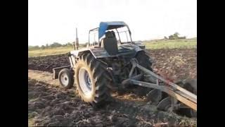 hho in รถไถ Tractor Ford 6610 Thailand ใช้น้ำ HGV .wmv