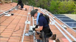 Enphase M215 IronRidge XRS Solar Install