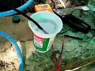 hho generator - hydrogen soap bubbles explosion