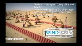 WindSmart, is the most efficient Vertical Axis Wind Turbine in the World.