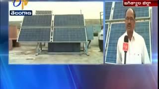 Solar Panels Turns Like Sunflower | Producing More Energy | at Jagitial