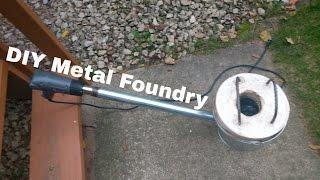 DIY Mini Foundry