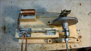DIY Homemade Steam Engine Running - Made Without Any Machining
