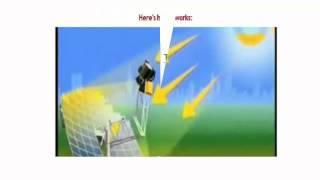 stirling solar generator | solar stirling plant | solar stirling generator