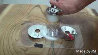 Electrostatic generator made of HDD components