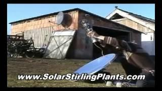 DO IT YOURSELF Solar Stirling Generator And Solar Stirling Free Energy Machine