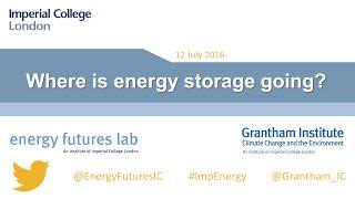 Where is energy storage going?