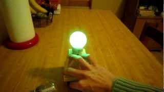 Jeanna's light of america joule thief with secondary coil --(B)--
