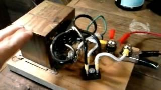 Homemade power supply(ran on joule thief )