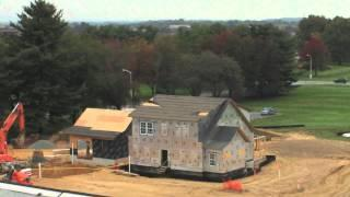 Time-Lapse Video of Net-Zero Residential Test Facility Construction