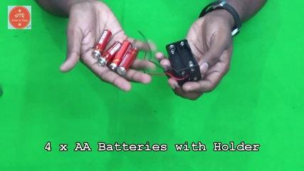 17.How to Make a Battery Powered Mini Drill Machine - DIY