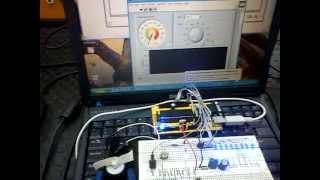 USB para control PWM de motor DC con PIC18F4550 y LabVIEW [2]