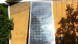 Cloudy Day Solar Can Air Heater