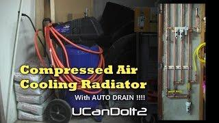 How to Make | Compressed Air Dryer with Auto Drain!