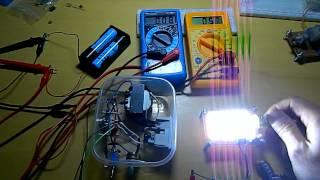Super Joule Ringer - Joule Thief and the LED Battle