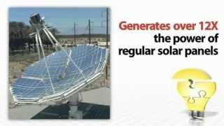 Unlimited Solar Power Plant, Solar Stirling Generator for Clean, Renewable Energy.