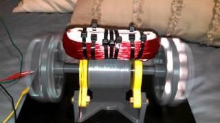 Small Bedini Style Window Motor 3D Printed