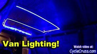 Bug Out Van LED Lighting    LED Lighting Kit Review