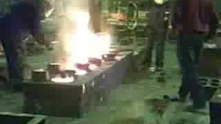 Steel Casting in a Sheffield Foundry