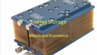 Energy Storage / Synchronization