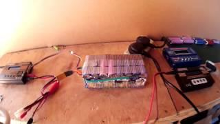 Charge DIY Ebike Battery With Solar Panels