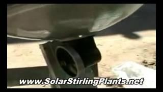 ZERO POINT Solar Stirling Power Generator - A Long Kept Secret For Generating FREE Electricity!