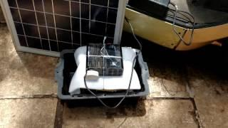 Solar Ebike Battery Charger Escooter Ecycle Charger India's first by Belifal