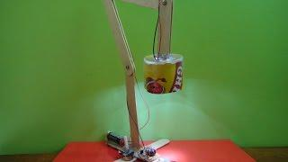 Make an energy saving desk lamp (Joule thief powered)