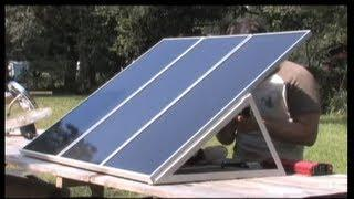 Solar Panel Power DIY Training for PV PHOTOVOLTAIC Harbor freight Free ENERGY KITS