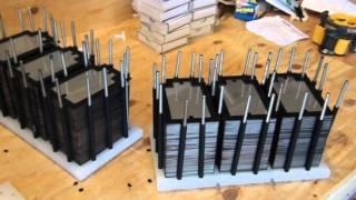 HHO 354 Plate Monster Hydrogen Generator Build Part 2