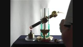 """ Resonant "" Steampunk Hot Air Engine"