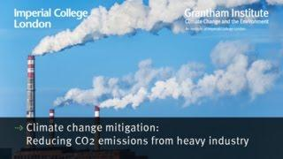 Reducing CO2 emissions from industry - Dr Tamaryn Napp