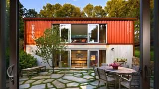 Amazing Shipping Container Homes with Courtyard